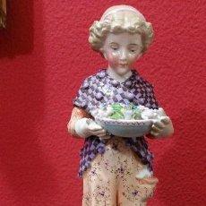 Antigüedades: PRECIOSA FIGURA DE MEISSEN. Lote 116384815