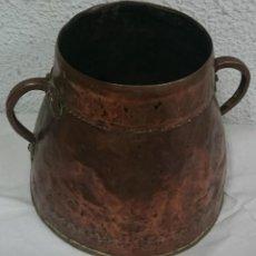 Antigüedades: ANTIQUÍSIMO CALDERO DE COBRE. Lote 116392307