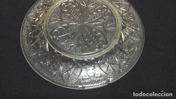 Antigüedades: Lote de tres platos.Santa lucía y otros - Foto 4 - 116395959