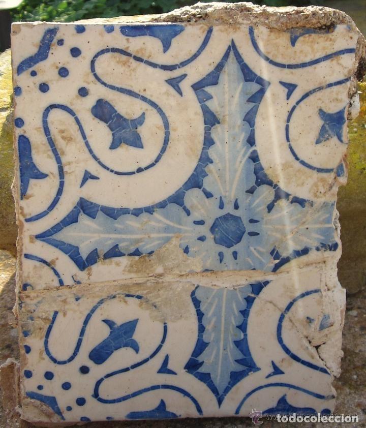ANTIGUA BALDOSA (Antigüedades - Porcelanas y Cerámicas - Otras)