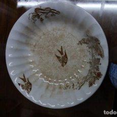 Antigüedades: ENSALADERA DE LOZA DE MARIANO COLA . Lote 116459703