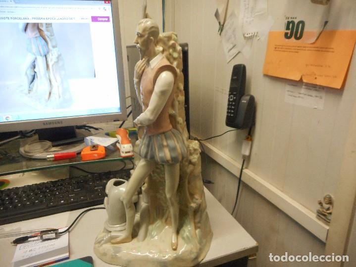 Antigüedades: gran y dificil figura lladro primera epoca tang quijote perfecto estado - Foto 5 - 116471695
