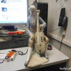 Antigüedades: GRAN FIGURA LLADRO PORCELANA EPOCA TANG MUSICO EPOCA 34 CM ALTO. Lote 116477523