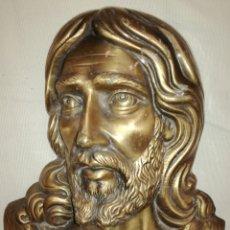 Antigüedades: BONITO BUSTO DE CRISTO BRONCE.. Lote 116479315