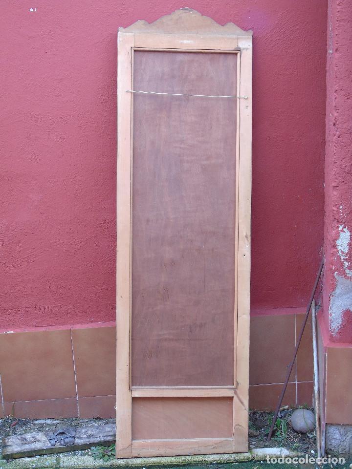 Antigüedades: ANTIGUO ESPEJO DE PUERTA DE ARMARIO. - Foto 7 - 116480891
