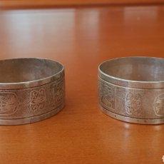 Antigüedades: PAREJA DE SERVILLETEROS.. Lote 116529427
