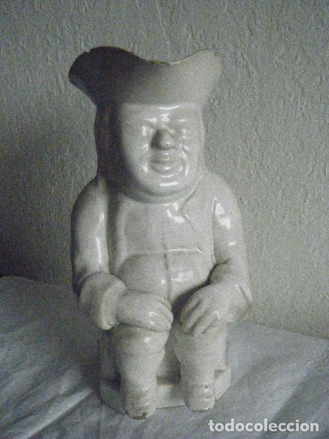 CERÁMICA INGLESA. JARRA TOBY JOUP, SIGLO XVIII-XIX (Antigüedades - Porcelanas y Cerámicas - Sargadelos)