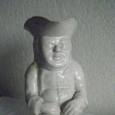 Antigüedades: CERÁMICA INGLESA. JARRA TOBY JOUP, SIGLO XVIII-XIX. Lote 158235456