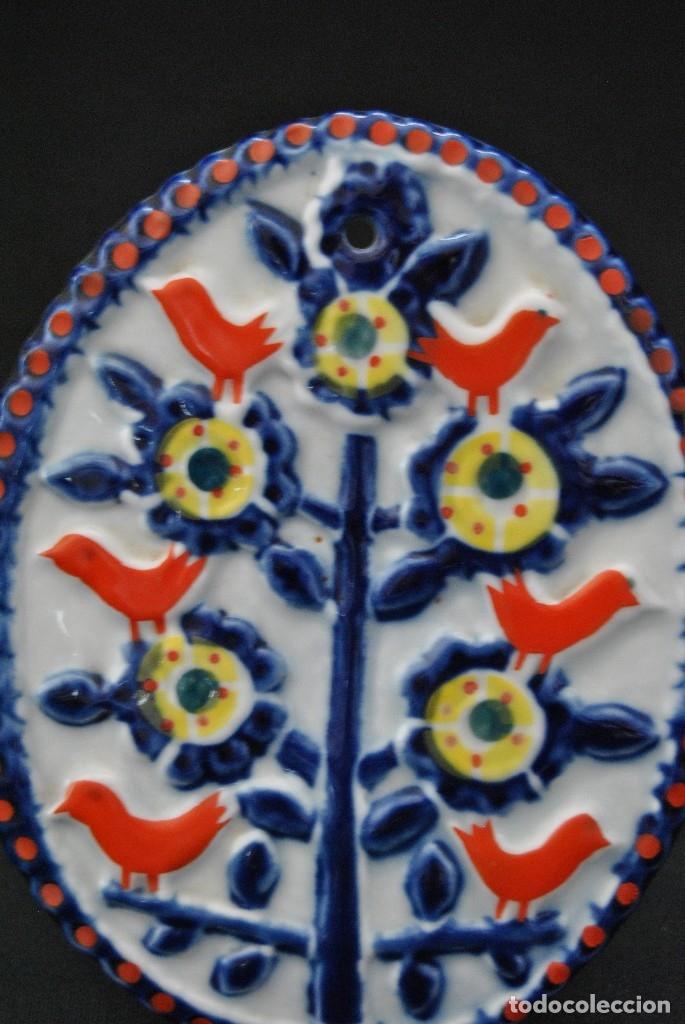 Antigüedades: PLACA DE CERAMICA DE SARGADELOS PERFECTO ESTADO. FIRMADA SARGADELOS - Foto 3 - 116598727