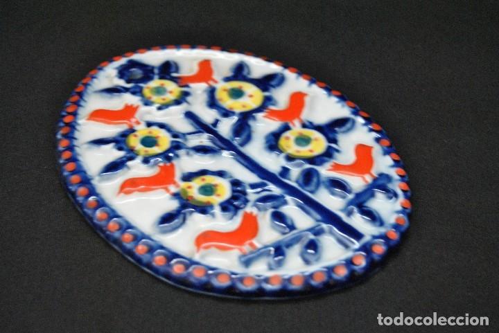 Antigüedades: PLACA DE CERAMICA DE SARGADELOS PERFECTO ESTADO. FIRMADA SARGADELOS - Foto 7 - 116598727