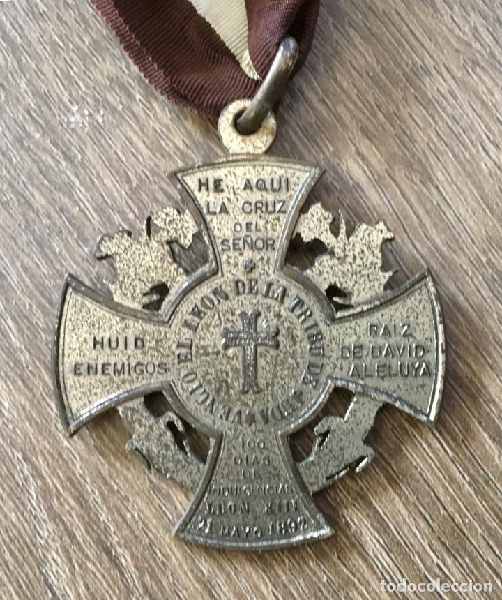 Antigüedades: Medalla San Antonio de Padua con cinta - Foto 3 - 116622071