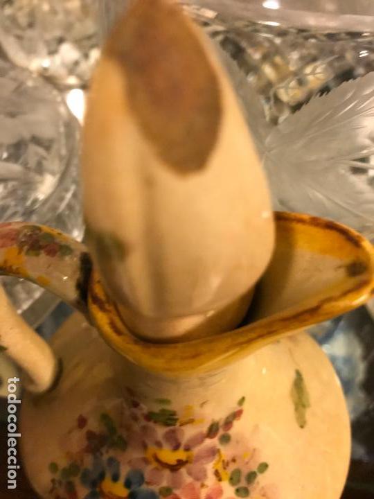 Antigüedades: PRECIOSA VINAGRERA DE CERÁMICA - Foto 10 - 116635375
