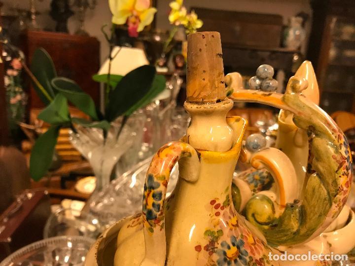 Antigüedades: PRECIOSA VINAGRERA DE CERÁMICA - Foto 11 - 116635375