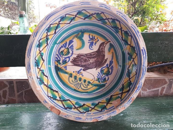 ANTIGUO LEBRILLO DE TRIANA (Antigüedades - Porcelanas y Cerámicas - Triana)