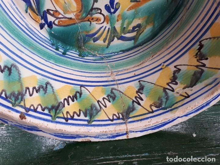 Antigüedades: Antiguo lebrillo de triana - Foto 3 - 116652119