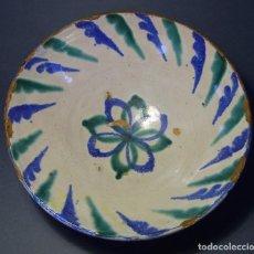 Antigüedades: LEBRILLO CERÁMICA DE FAJALAUZA XIX . Lote 116660679