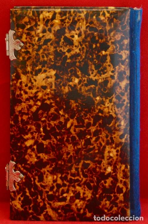 Antigüedades: ANTIGUO DEVOCIONARIO DE LAS HORAS PIADOSAS EJERCICIO DEL CRISTIANO EXCELENTE ESTADO - Foto 3 - 51535393