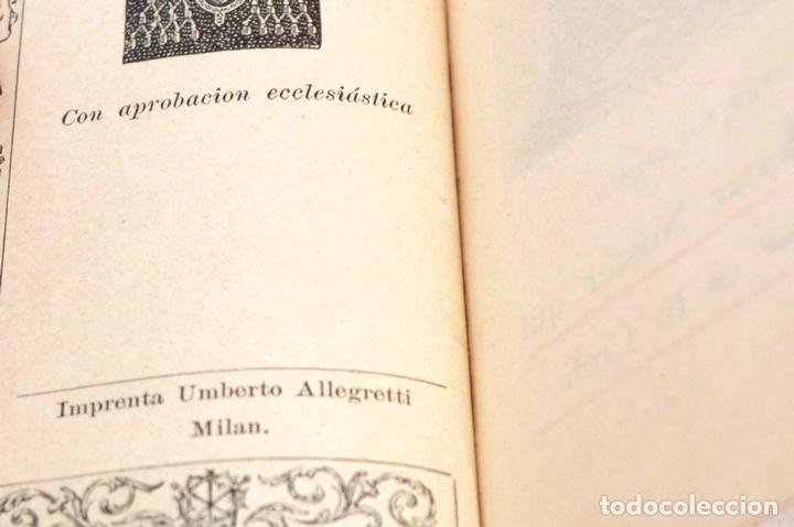 Antigüedades: ANTIGUO DEVOCIONARIO DE LAS HORAS PIADOSAS EJERCICIO DEL CRISTIANO EXCELENTE ESTADO - Foto 8 - 51535393