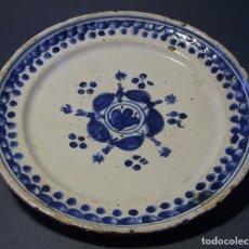 Antigüedades: PLATO CERÁMICA XVIII . Lote 116667715