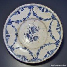 Antigüedades: PLATO DE CERÁMICA CATALANA XVIII . Lote 116667827