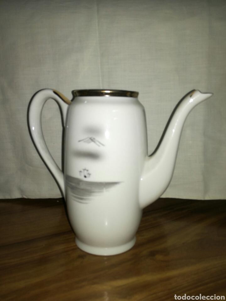 Antigüedades: Tetera o cafetera de porcelana Japonesa - Foto 2 - 116676191