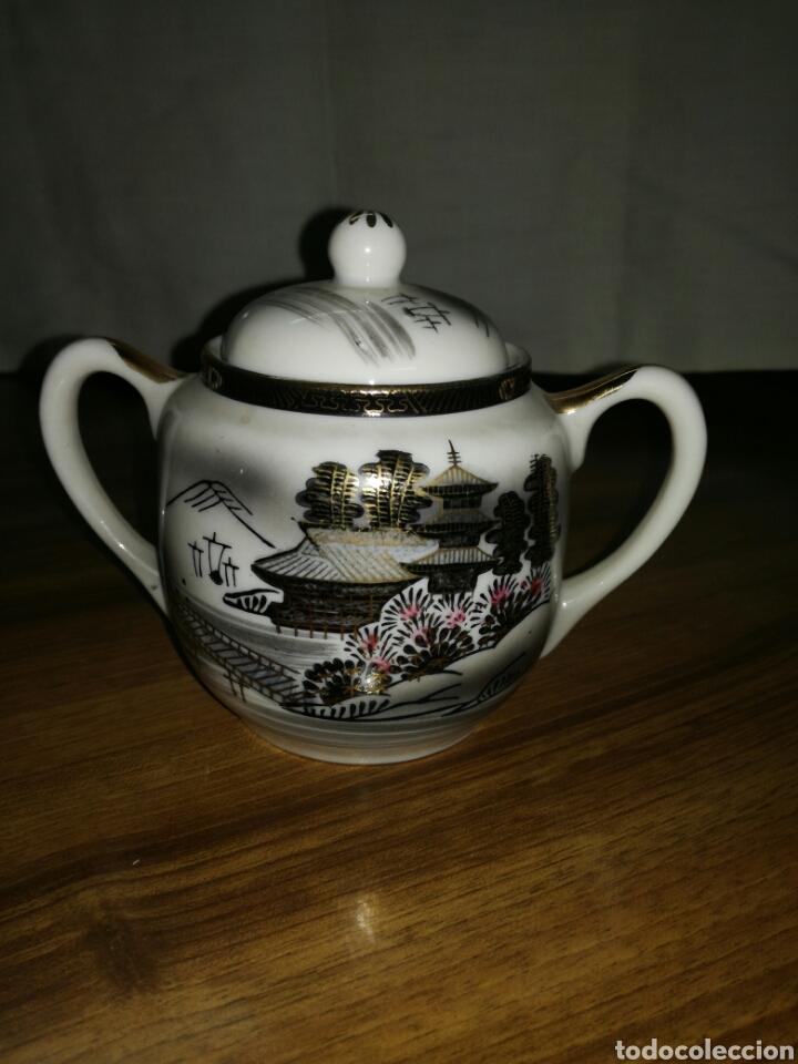 AZUCARERO PORCELANA JAPONESA (Antigüedades - Porcelana y Cerámica - Japón)