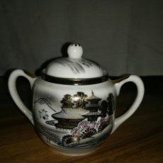 Antigüedades: AZUCARERO PORCELANA JAPONESA. Lote 116676628