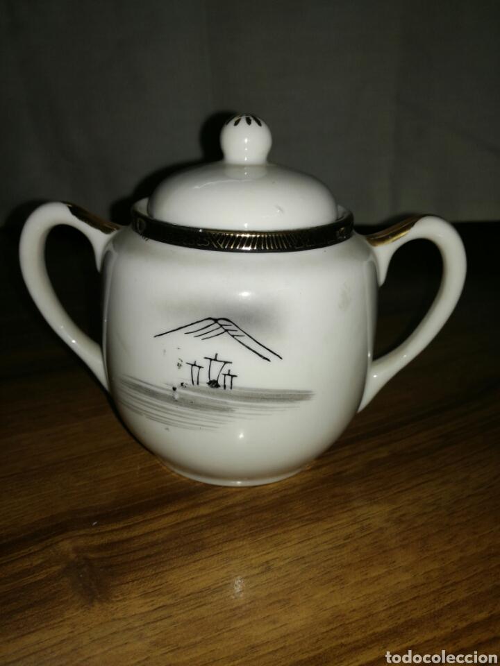 Antigüedades: Azucarero porcelana Japonesa - Foto 2 - 116676628