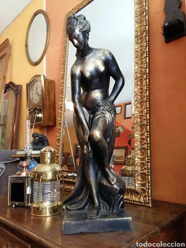 Antigüedades: Gran escultura de bronce año 1891 - Foto 2 - 116677822