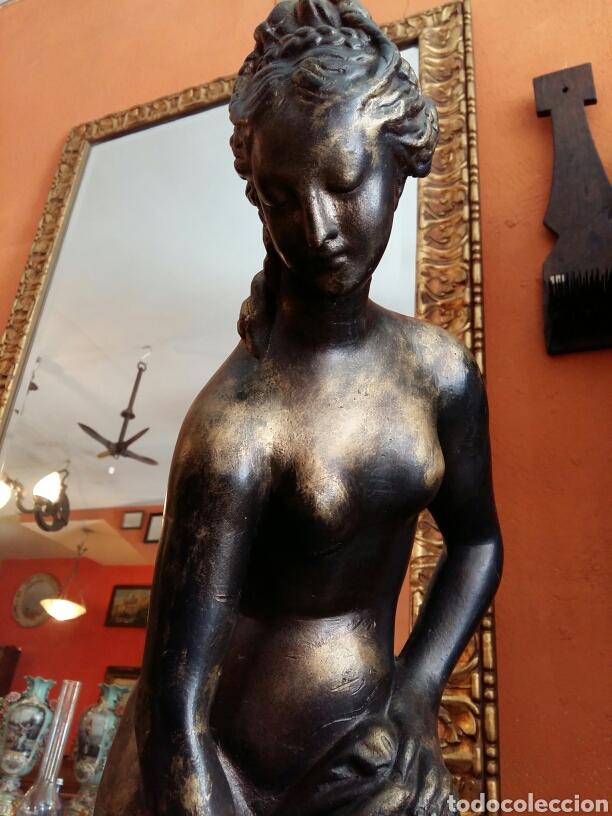 Antigüedades: Gran escultura de bronce año 1891 - Foto 3 - 116677822