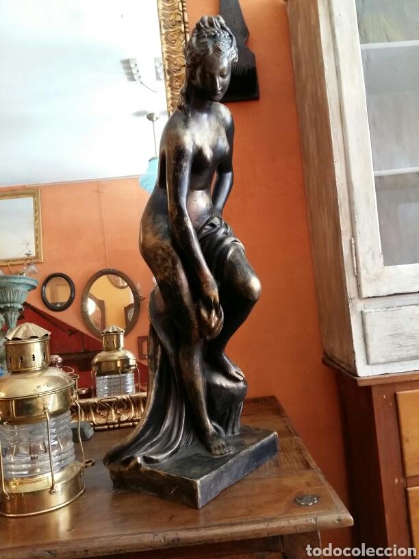 Antigüedades: Gran escultura de bronce año 1891 - Foto 4 - 116677822