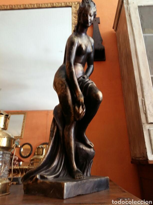 Antigüedades: Gran escultura de bronce año 1891 - Foto 5 - 116677822