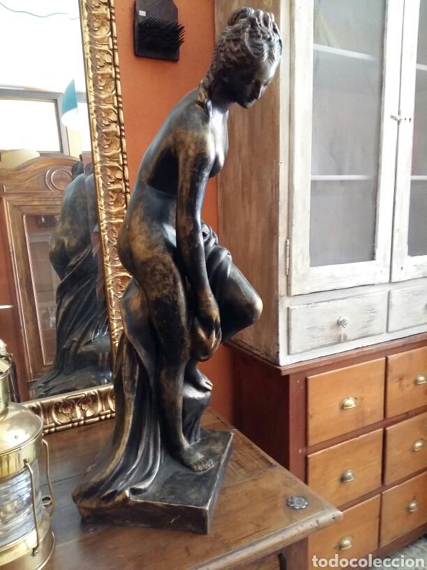 Antigüedades: Gran escultura de bronce año 1891 - Foto 6 - 116677822