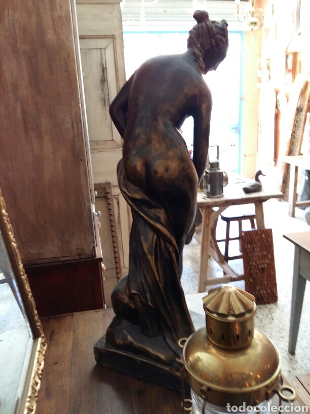 Antigüedades: Gran escultura de bronce año 1891 - Foto 8 - 116677822