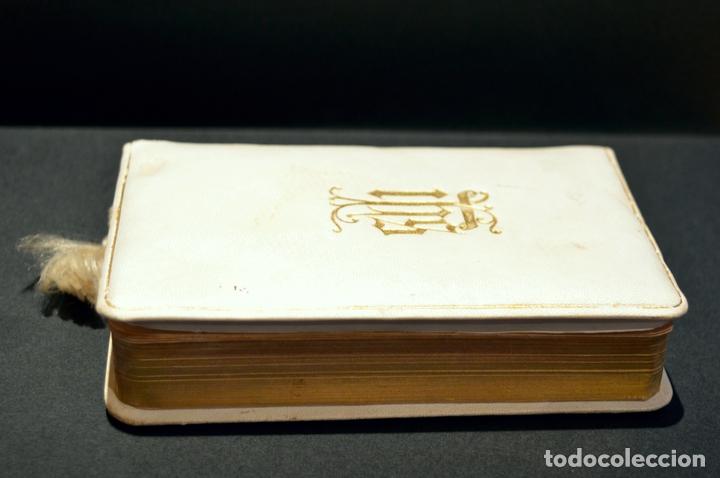 Antigüedades: DEVOCIONARIO EL PRIMER LLIBRE DEL NOI CRISTIA 1926 CATALAN ENCUADERNACION EN PIEL - Foto 5 - 88525612