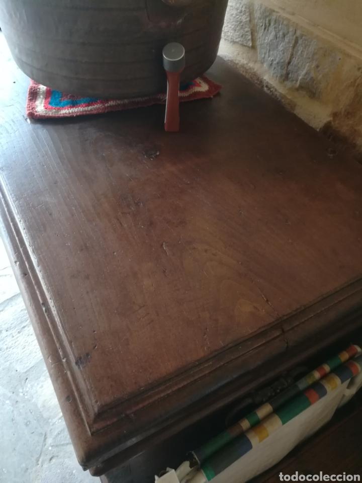Antigüedades: Arca Maragata de castaño siglo XVIII - Foto 6 - 97326612
