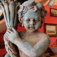 Antiquitäten - Antiguos maceteros escultóricos de bronce - 116710915