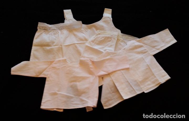 LOTE 5 PIEZAS ROPA BEBE (Antigüedades - Moda y Complementos - Infantil)