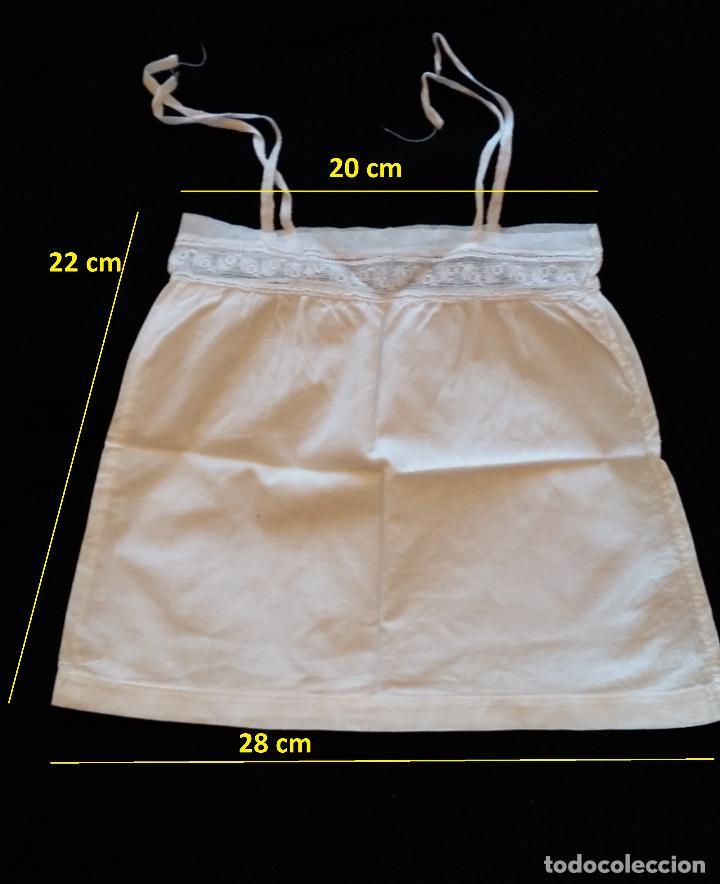 Antigüedades: Lote 5 piezas ropa bebe - Foto 3 - 116719871