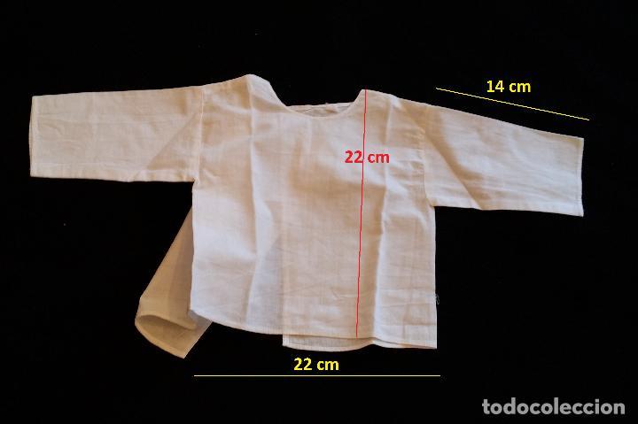 Antigüedades: Lote 5 piezas ropa bebe - Foto 5 - 116719871