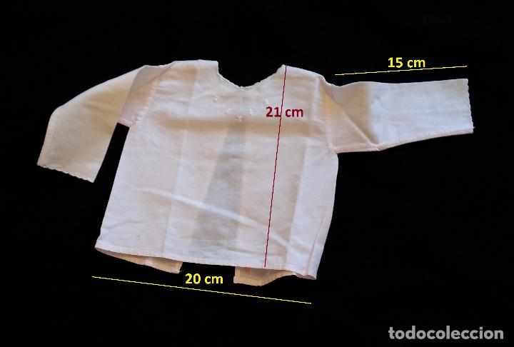 Antigüedades: Lote 5 piezas ropa bebe - Foto 6 - 116719871
