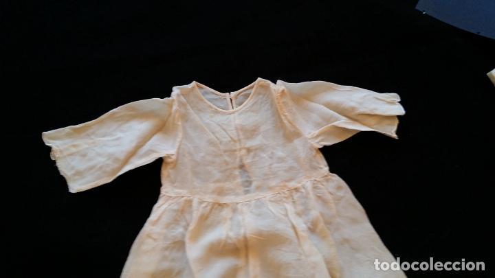 Antigüedades: Antiguo traje de cristianar / bautismo: capa y faldón - Foto 13 - 155052881