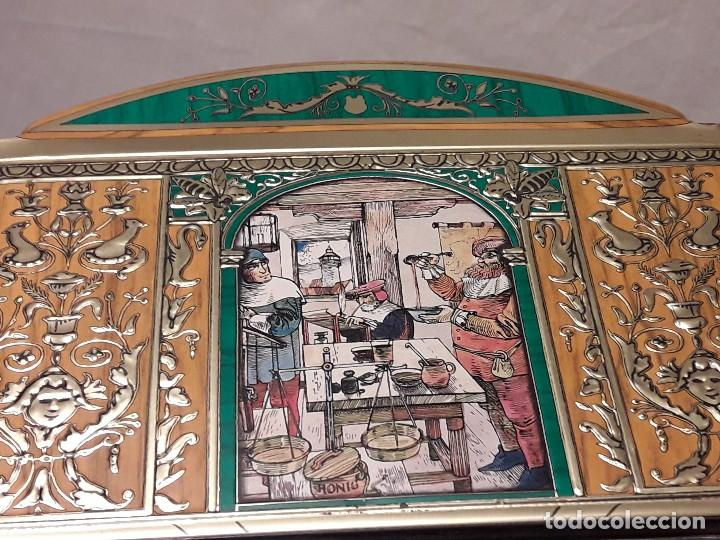 antiguo cofre de metal colecci n e otto schmid comprar cajas antiguas en todocoleccion. Black Bedroom Furniture Sets. Home Design Ideas