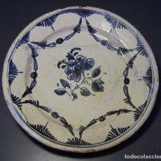 Antigüedades: PLATO DE CERÁMICA CATALANA XVIII . Lote 116740443