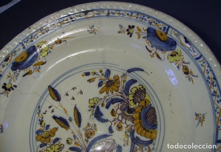 Antigüedades: ROTUNDO Y GRAN PLATO DE TRIANA XVIII - Foto 6 - 116740691