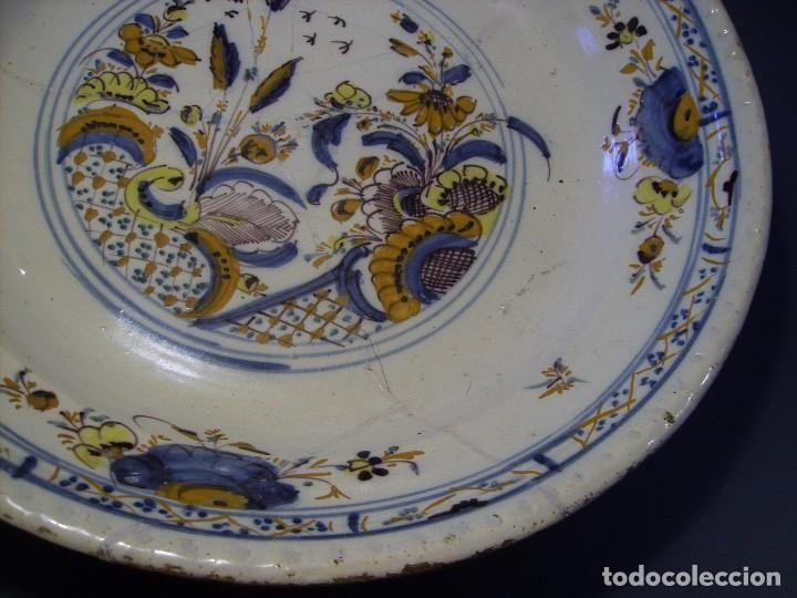 Antigüedades: ROTUNDO Y GRAN PLATO DE TRIANA XVIII - Foto 7 - 116740691