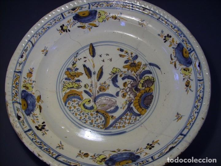 Antigüedades: ROTUNDO Y GRAN PLATO DE TRIANA XVIII - Foto 9 - 116740691