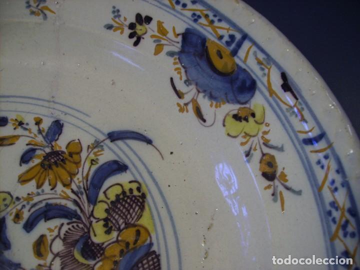 Antigüedades: ROTUNDO Y GRAN PLATO DE TRIANA XVIII - Foto 12 - 116740691