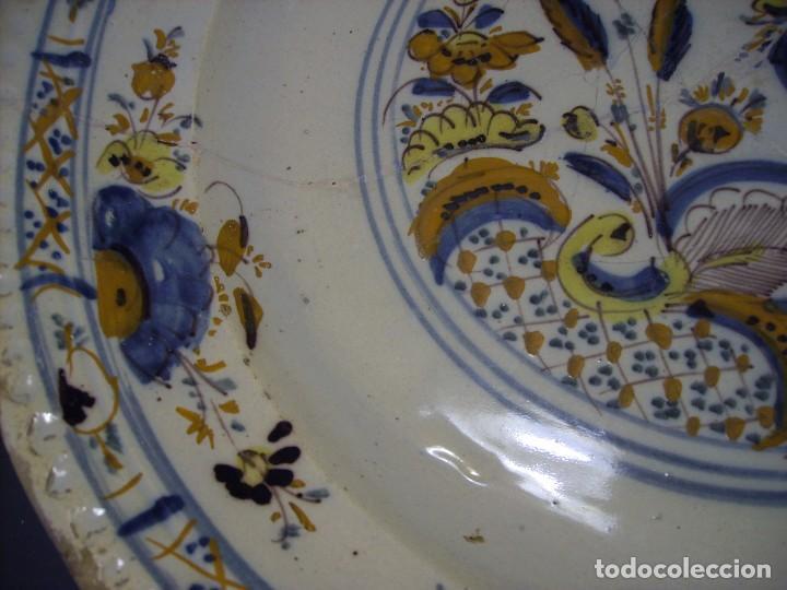 Antigüedades: ROTUNDO Y GRAN PLATO DE TRIANA XVIII - Foto 14 - 116740691