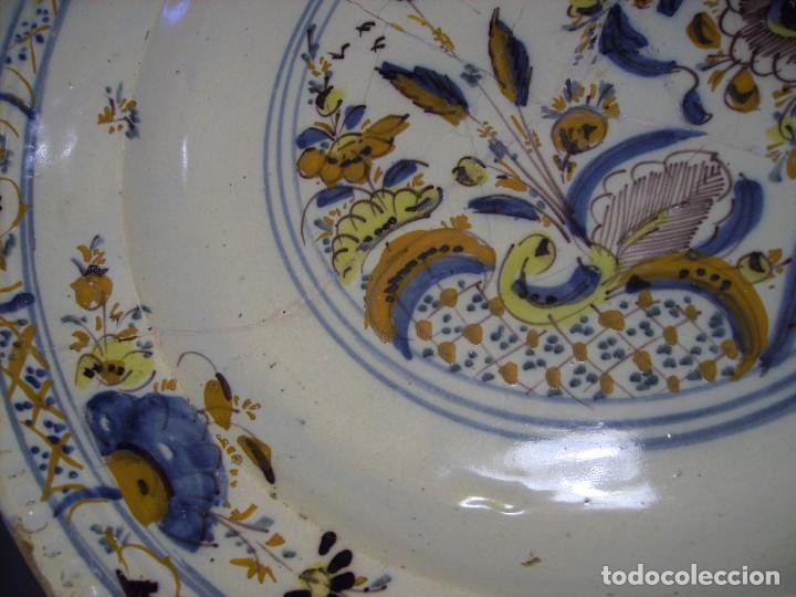 Antigüedades: ROTUNDO Y GRAN PLATO DE TRIANA XVIII - Foto 15 - 116740691